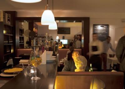 Abends bei Vicino L'italiano